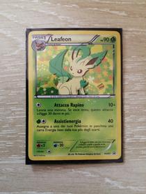 Carta pokemon- leafeon (promo) holo-BW87