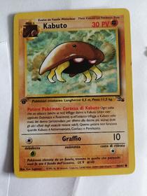 Carta pokemon kabuto 50/62