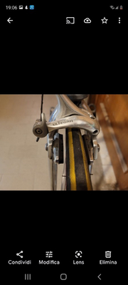bicicletta da corsa bianchi
