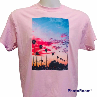 T-shirt con stampa GILDAN